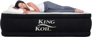 King Koil best queen camping mattress