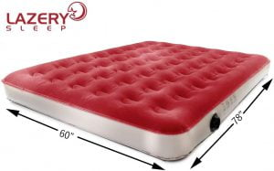 Lazery Sleep inflatable most durable queen air mattress for camping