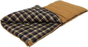 ALPS OutdoorZ Redwood - best flannel sleeping bag for adults