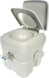 Camco 41541 Portable Travel Toilet for Camping, RV or Boating