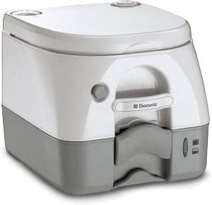 DOMETIC 301097206 970-Series Portable Toilet for Camping - Best portable flush camping toilet