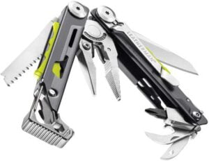 LEATHERMAN, Signal Camping Multitool - best leatherman multi tool for camping, best survival multi tool with firestarter