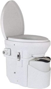 Nature's Head Self Contained Composting Toilet - portable flush camping toilet, portable composting camping toilet
