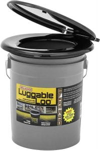 Reliance Products Luggable Loo Portable 5 Gallon - Reliance luggable loo portable toilet