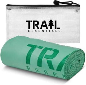 Trail Essentials Portable Toilet Waste Bags - Biodegradable and CompostablePoop Bags
