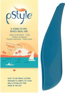 pStyle Stand to Pee with Ease While Fully Clothed - Best lightweight female urination device