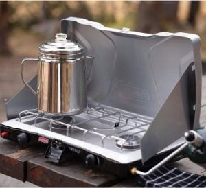 Camp Stove with Burners Work Wonderfully for get water while camping