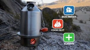Use Camping Kettle to Make Hot Water While Camping