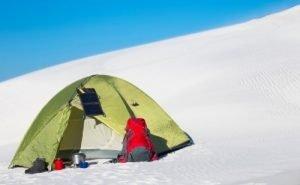 Winter-Resistant Tent