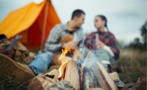 keep a tent warm without electricity